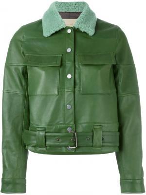 Куртка Jim Christian Wijnants. Цвет: зелёный
