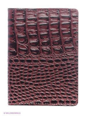 Обложка для автодокументов A.Valentino. Цвет: черный, бордовый