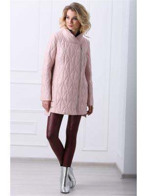 Куртка Lanicka. Цвет: бледно-розовый