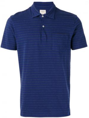 Striped polo shirt Bellerose. Цвет: синий