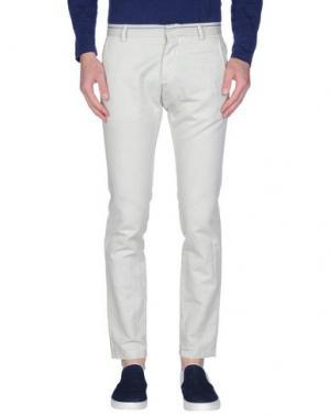 Повседневные брюки DAVID NAMAN. Цвет: слоновая кость