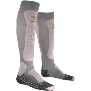 Термо-Носки X-Socks. Цвет: pearl grey/pink