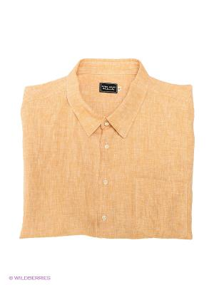 Рубашка Alfred Muller. Цвет: светло-коричневый