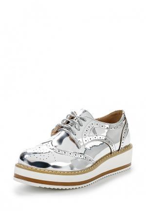 Ботинки Flyfor. Цвет: серебряный