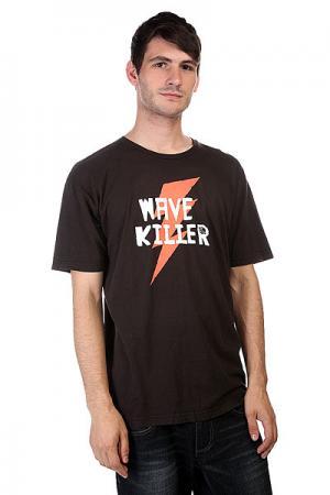 Футболка  Wave Killer Black Lost. Цвет: черный
