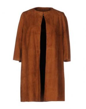 Легкое пальто NORA BARTH. Цвет: коричневый