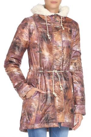 Куртка DizzyWay. Цвет: кэмел