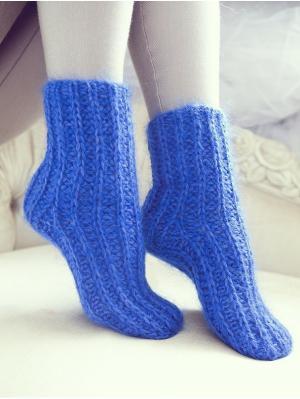 Носки Непростые вещи. Цвет: синий