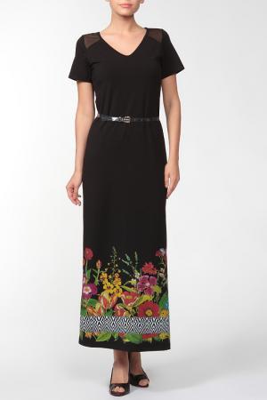Платье Cristiano Burani. Цвет: черный