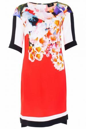 Платье Class Cavalli. Цвет: красный