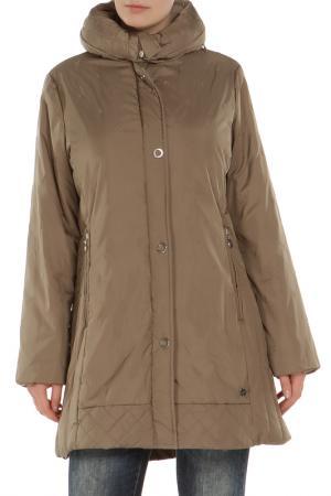 Куртка Loft. Цвет: оливковый
