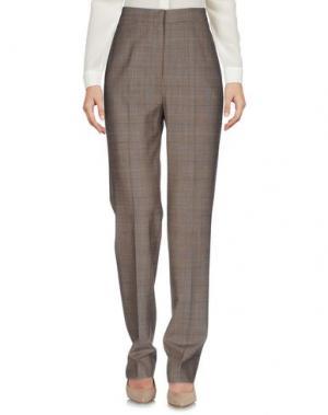 Повседневные брюки METRADAMO. Цвет: коричневый