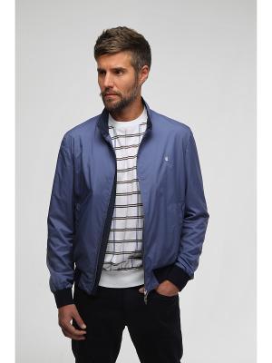 Куртка CUDGI. Цвет: голубой