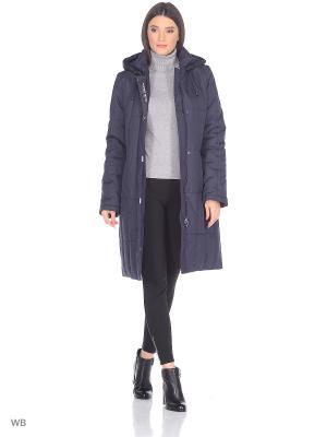 Пальто JUDIT Maritta. Цвет: синий