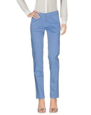 Повседневные брюки VERYSIMPLE. Цвет: пастельно-синий