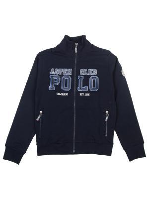 Толстовка Aspen Polo Club. Цвет: синий