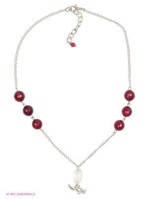 Ожерелье Polina Selezneva. Цвет: фиолетовый, прозрачный