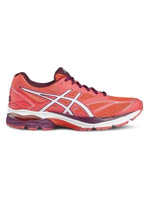 Спортивная обувь GEL-PULSE 8 ASICS. Цвет: розовый, белый, сиреневый