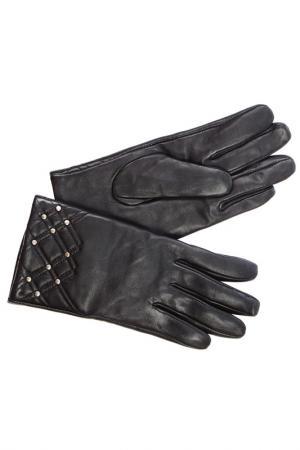 Перчатки Laccom. Цвет: черный