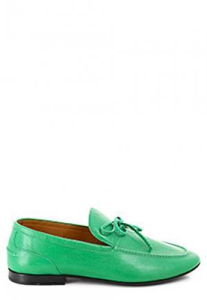 Лоферы ALDO BRUE. Цвет: зеленый