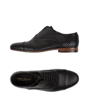 Обувь на шнурках BRIAN DALES. Цвет: темно-коричневый
