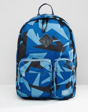 Parkland Синий камуфляжный рюкзак Academy 32L. Цвет: зеленый