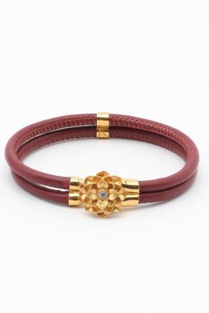 Браслет Samsara. Цвет: красный