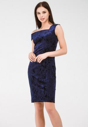 Платье Krismarin. Цвет: синий