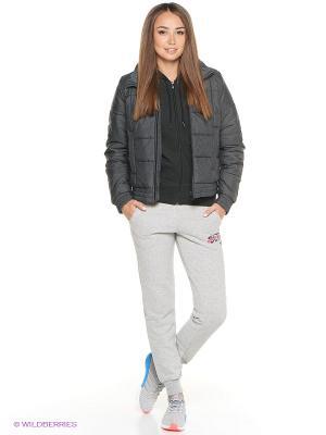 Куртка Adidas. Цвет: антрацитовый