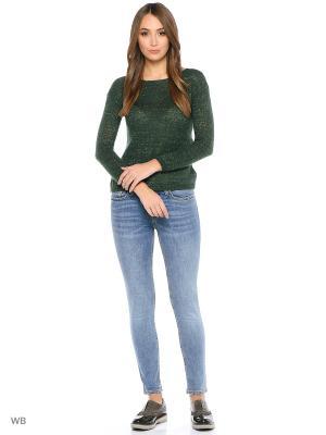 Пуловер Motivi. Цвет: темно-зеленый