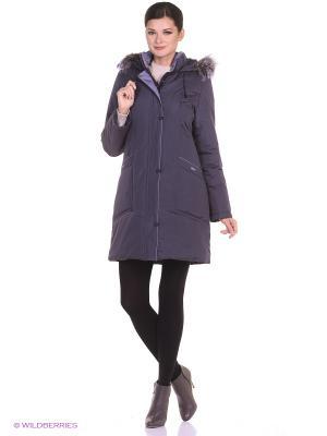 Пальто AUNE Maritta. Цвет: фиолетовый