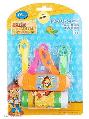 Нож для мыльных пузырей  Disney Джейк и пираты нетландии Играем вместе. Цвет: оранжевый
