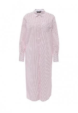 Платье Twin-Set Simona Barbieri. Цвет: красный