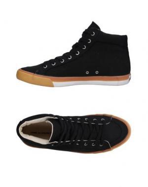 Высокие кеды и кроссовки POINTER. Цвет: черный