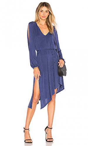 Мини платье janelle YFB CLOTHING. Цвет: королевский синий