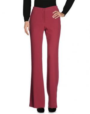 Повседневные брюки GOTHA. Цвет: пурпурный