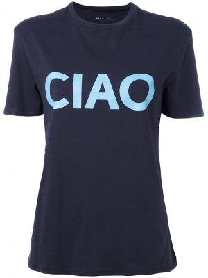 Футболка Ciao 6397. Цвет: синий