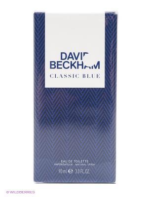 Туалетная вода BECKHAM CLASSIC BLUE, 90 мл DAVID. Цвет: прозрачный