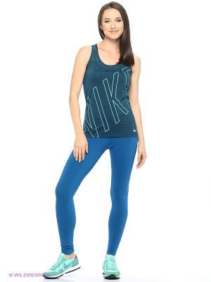 Леггинсы W NSW LEG-A-SEE LGGNG GX Nike. Цвет: синий