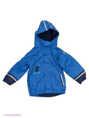 Куртка-дождевик детская 3 в 1 Sterntaler. Цвет: синий