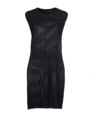 Короткое платье NEERA. Цвет: темно-синий