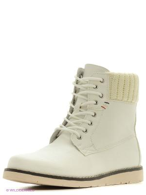 Ботинки KEDDO. Цвет: белый