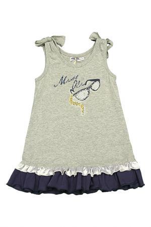Платье Olimpias. Цвет: серый