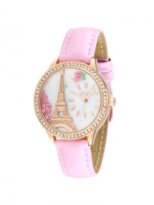 Наручные часы Mini.. Цвет: розовый, золотистый