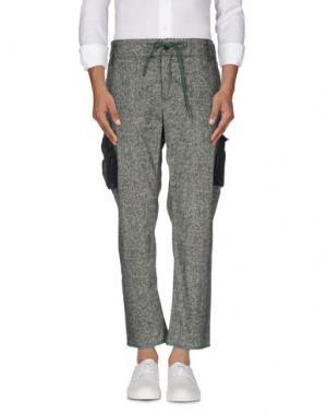 Повседневные брюки TRE CINQUE SETTE. Цвет: темно-зеленый