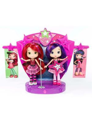 Игрушка Шарлотта Земляничка Две куклы 15 см на сцене, кор. The Bridge. Цвет: розовый