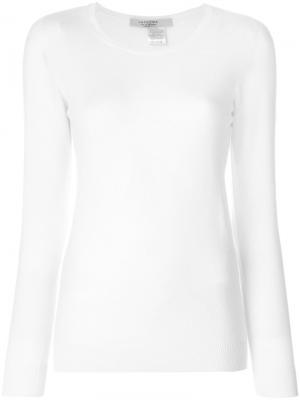 Пуловер с длинными рукавами  La Fileria For Daniello D'aniello. Цвет: белый