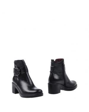 Полусапоги и высокие ботинки MARINA GREY. Цвет: черный