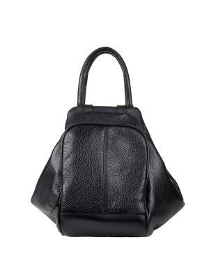 Сумка-рюкзак Fabio Bruno. Цвет: черный