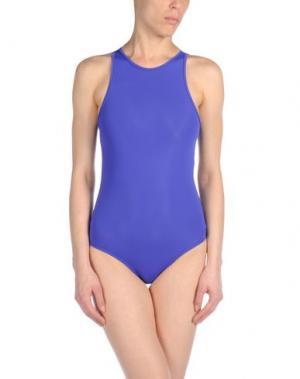 Слитный купальник BETH RICHARDS. Цвет: фиолетовый